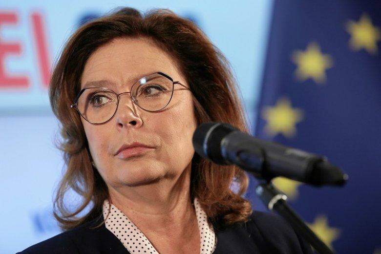 """Małgorzata Kidawa-Błońska odpowiedziała na słowa Jarosława Kaczyńskiego o """"piętnowaniu""""."""