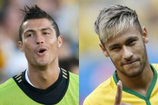 Mteroseksualni 2.0, czyli czym jest spornseksualność? Na zdjęciu Ronaldo i Neymar.