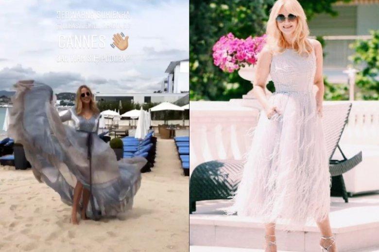 Do tej pory na Festiwalu Filmowym w Cannes Jessica Mercedes zaprezentowała się w sukience Łukasza Jemioła, natomiast Grażyna Torbicka wystąpiła w kreacji Violi Piekut