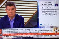 """W TVP Info w programie Rachonia pokazują nieistniejące tweety? """"Przez przypadek usunąłem"""" – zapewnia autor"""