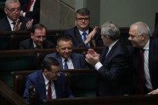 Na zdjęciu - wybór Mariana Banasia na prezesa NIK.