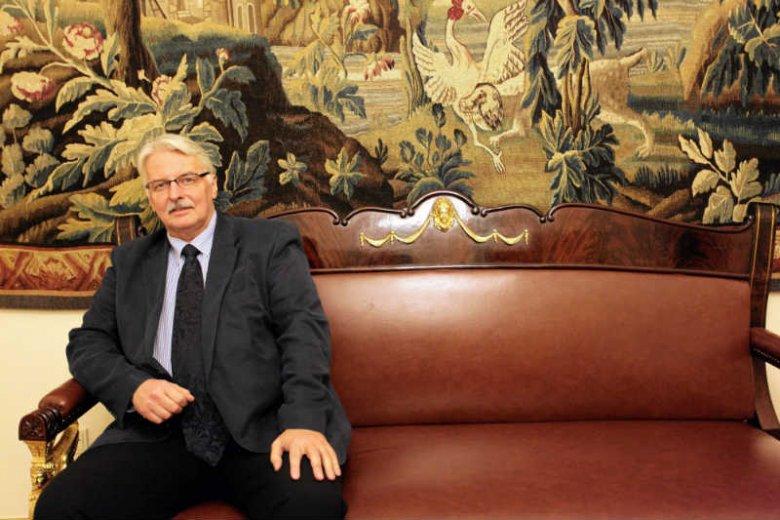 Witold Waszczykowski chce opóźnienia wydania opinii Komisji Weneckiej.