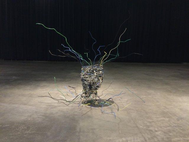 Cyber Violance, 2016, rzeźba
