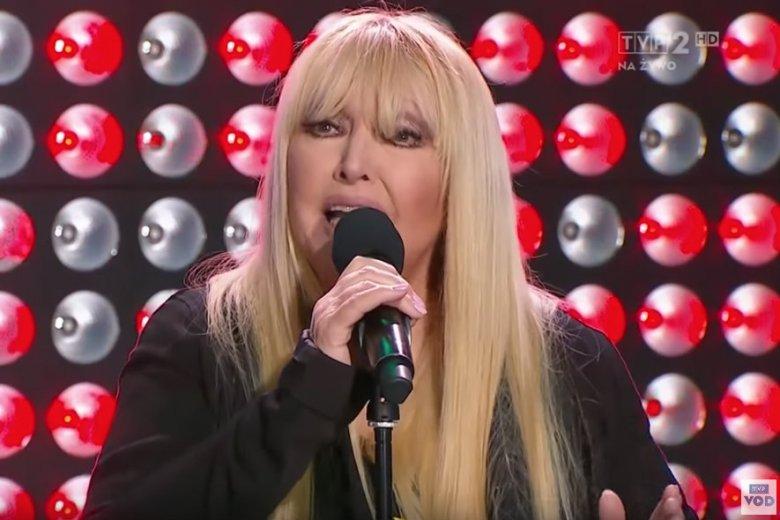 """Maryla Rodowicz przeprosiła swoich fanów za koszmarne wykonanie utworu """"Shallow""""."""