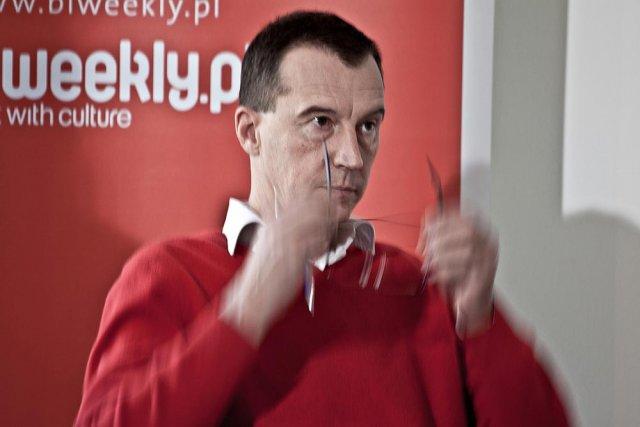 """Redaktor naczelny miesięcznika """"Press"""" Andrzej Skworz"""