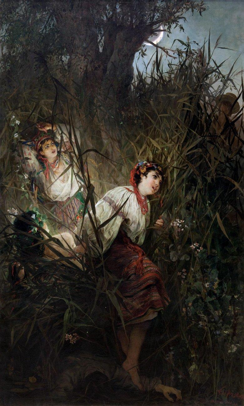 Rusałki według Witolda Pruszkowskiego (1877)