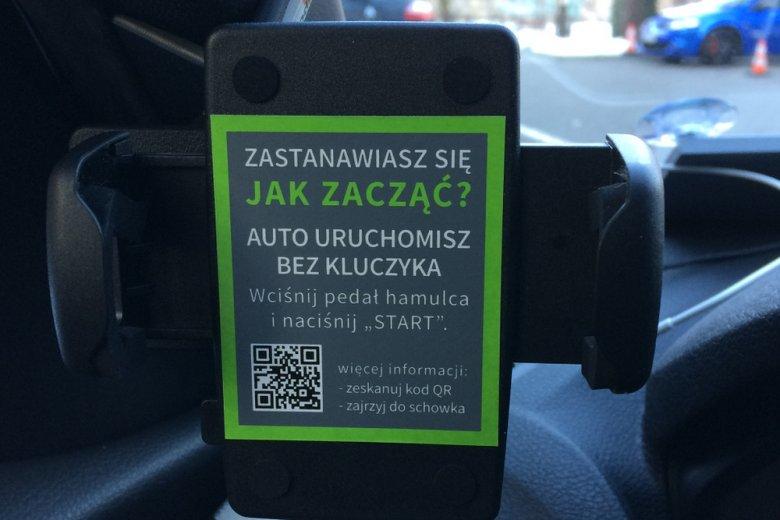 Do samochodu doprowadza specjalna aplikacja 4Moblity