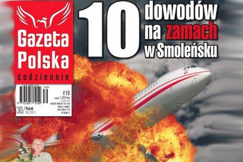 Zamach w Smoleńsku. Wybuch TU154