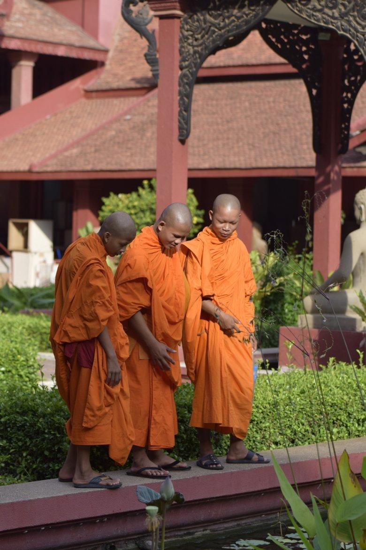 Uśmiech mnicha • fot. Agata Czachórska
