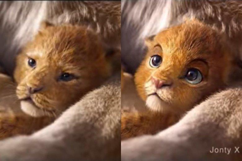 """Jonty Pressinger naprawił nowego """"Króla lwa"""" przy użyciu technologii deep fake."""