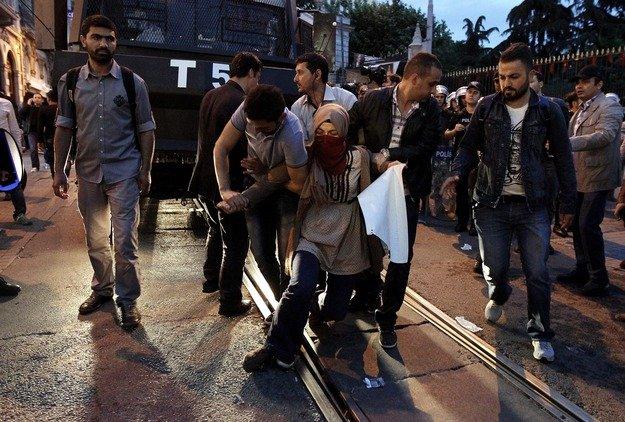 Protest na ulicach Somy po katastrofie w kopalni
