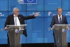 Juncker zażartował z Tuska.
