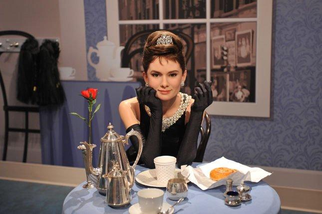 Podobizna Audrey Hepburn w Muzeum Figur Woskowych Madame Tussaud.