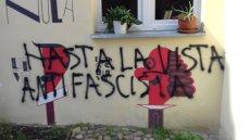 Księgarnia Hiszpańska stała się celem faszystowskiego ataku
