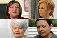 """Czy istnieje """"męska polityka""""? Pytamy Katarzynę Hall, Krystynę Łybacką, Beatę Kempę i Ligię Krajewską."""