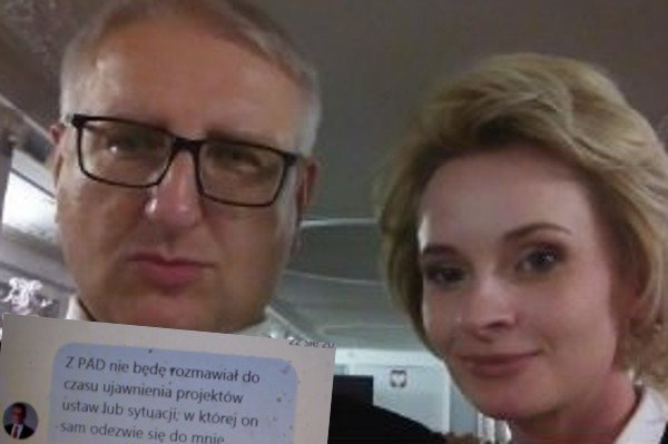 """Izabela Pek pokazuje na Twitterze, """"jak kłamią w PiS""""."""