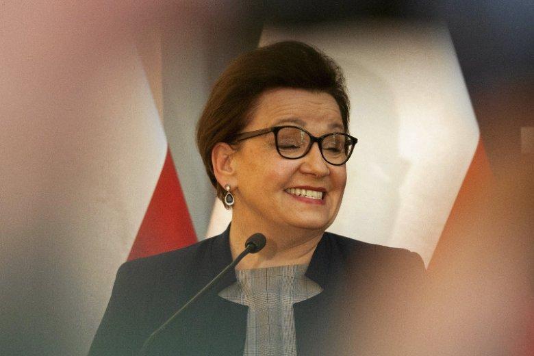 Anna Zalewska w Parlamencie Europejskim nie chciała pracować w komisji edukacji.