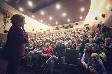 Tłum na spotkaniu z Małgorzatą Kidawą-Błońską w Sierpcu.
