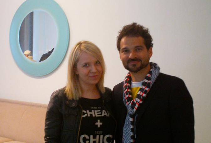 Salone del Mobile 2012, udało mi się porozmawiać z samym Hayonem!