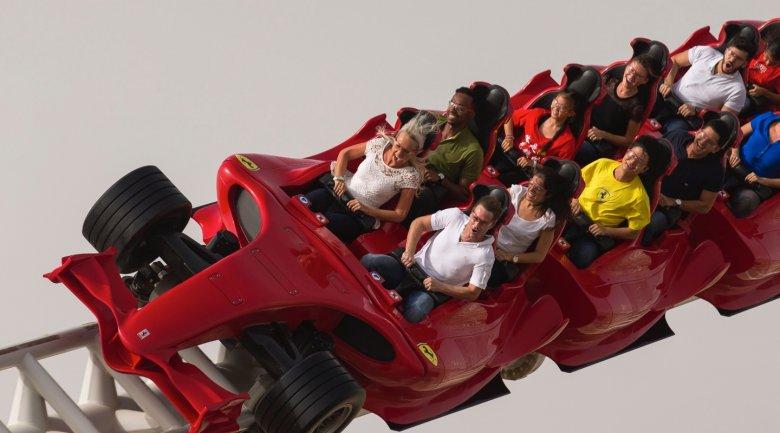 W Ferrari World emocje gwarantowane!
