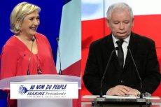 """""""Cieszy mnie reakcja PiS na słowa o demontażu UE"""". Dziennikarz """"Rzeczpospolitej"""" wyjaśnia, jak było z wypowiedzią Le Pen"""