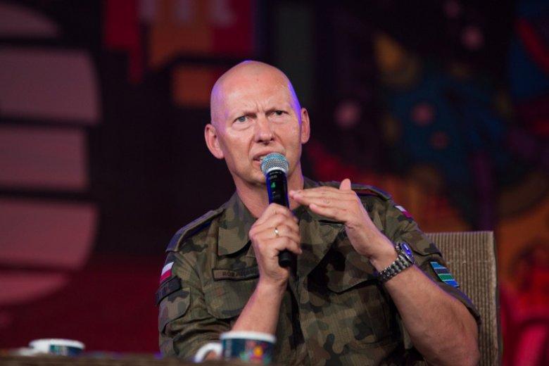 Gen. Różański był gościem festiwalu w Kostrzynie nad Odrą