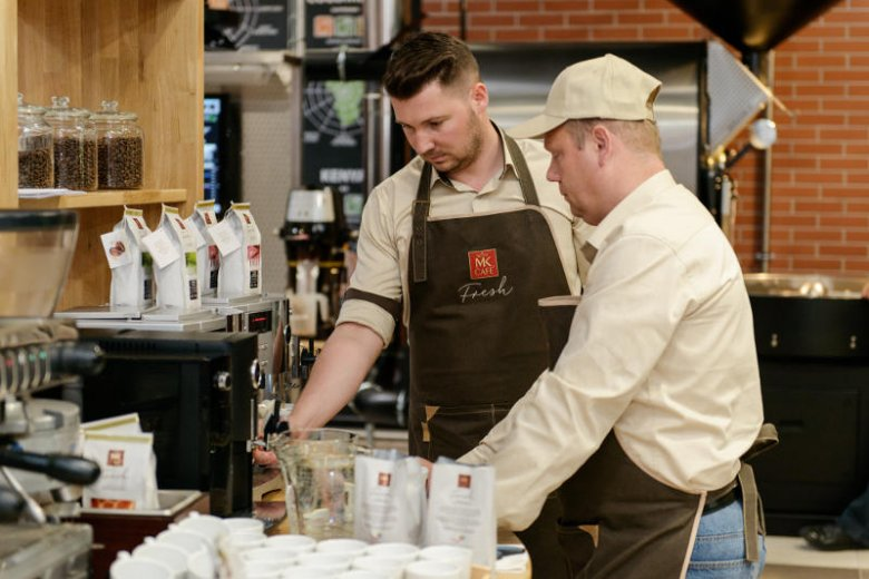 W Manufakturze MK Cafe pracują najlepsi specjaliści.