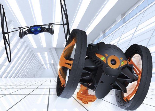 Drony zaprezentowane na CES 2014