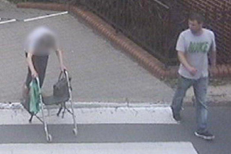 Poznańska policja szuka sprawcy zuchwałej kradzieży, której ofiarą padła schorowana staruszka.