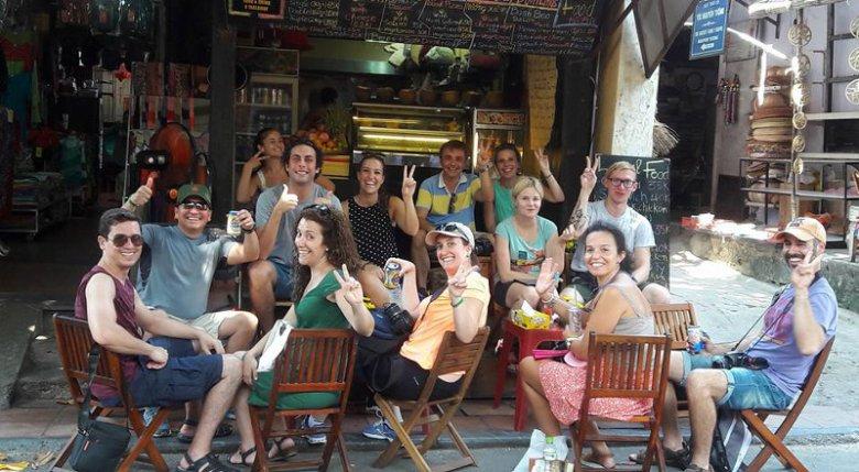 Większość klienteli lokalu Piotra stanowią turyści.