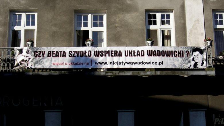 Stanisław Kotarba, szef lokalnych struktur PO i Beata Szydło, wiceprezes PiS doskonale się dogadują w Wadowicach