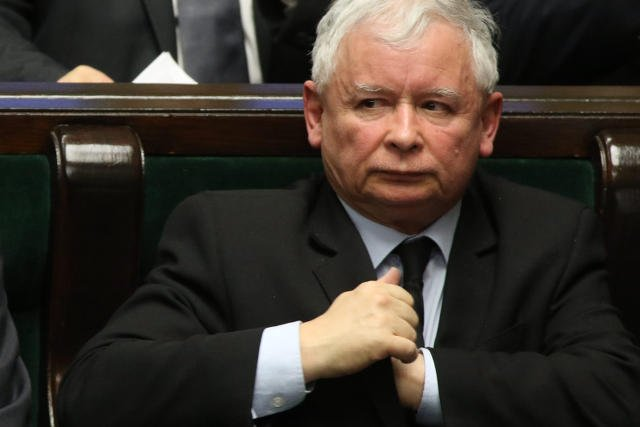"""Jarosław Kaczyński został Człowiekiem Roku 2015 """"Wprost""""."""
