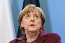 Angela Merkel ma w poniedziałek pojawić się w Warszawie.