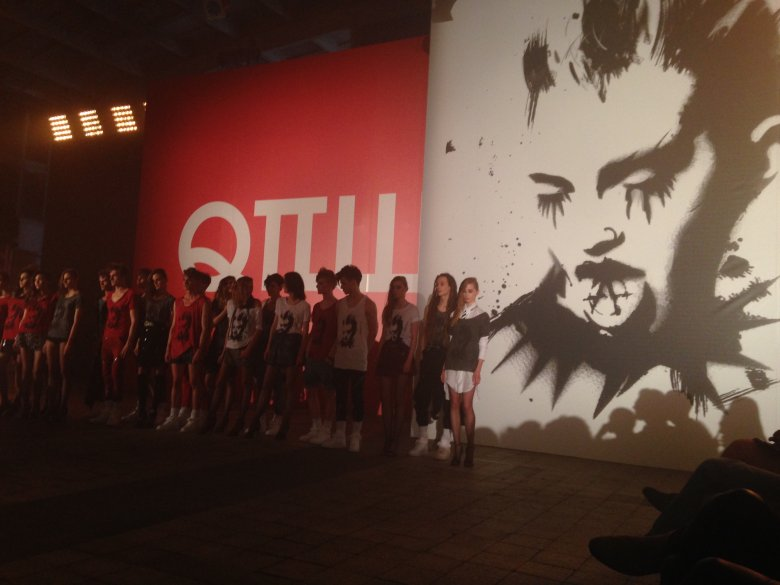 Finał pokazu Roberta Kupisza, 5 czerwca 2014 r.
