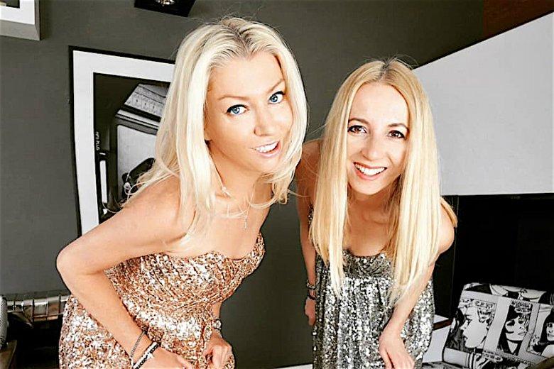 Kinga (po lewej) oraz Ania, czyli Fortissima TV