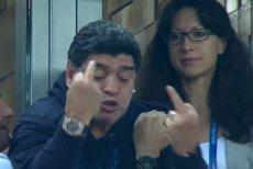 Diego Maradona zachował się skandalicznie po meczu z Nigerią.