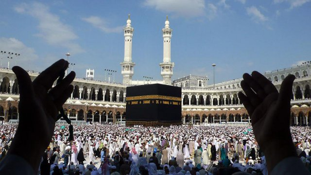 Mekka - najświętsze miejsce muzułmanów.