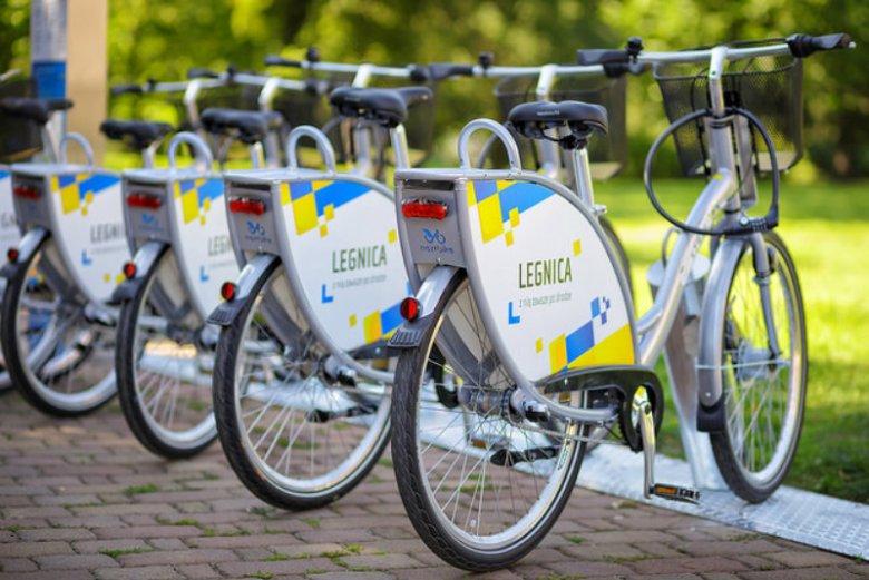 Stacja Nextbike w Legnicy