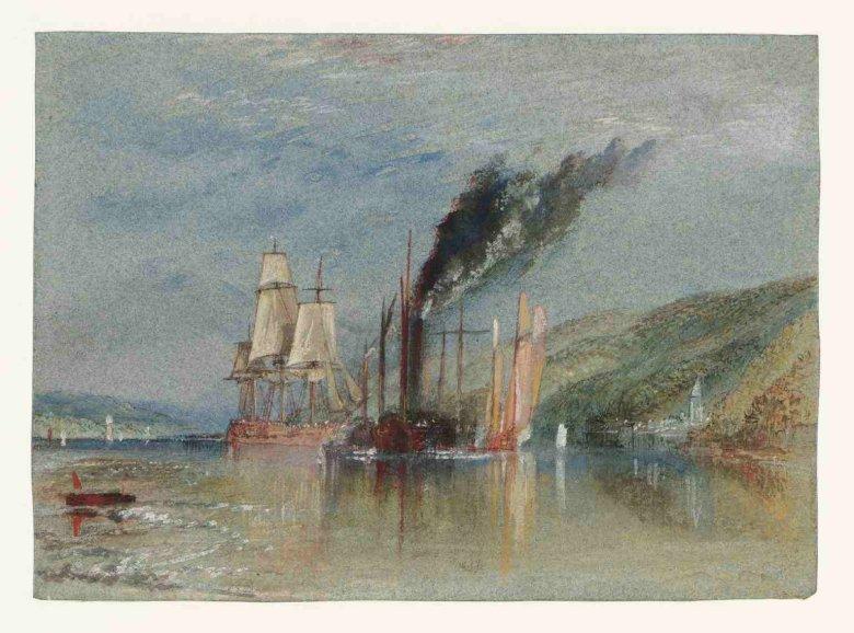 """J.M.W. Turner """"Między Quillebeuf i Villequier"""""""