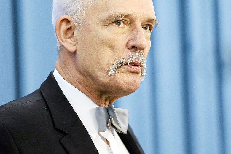 Janusz Korwin Mikke zdementował plotki jakoby zamierzał się wycofać z polityki