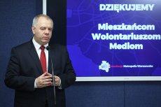 Poseł PiS Jacek Sasin poinformował o wycofaniu poselskiego projektu stworzenia tzw. wielkiej Warszawy. W przyszłości PiS o zmianę granic stolicy ma walczyć rękami rządu.