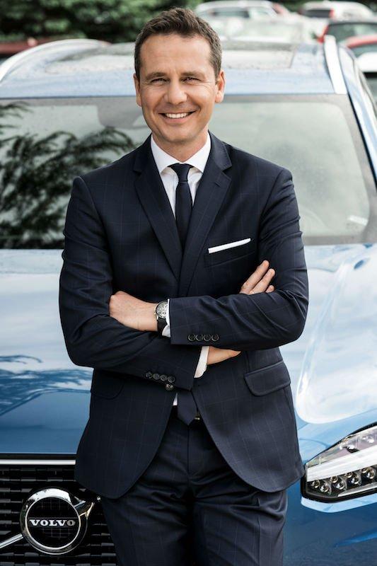 Mariusz Nycz, czyli dyrektor ds. marketingu Volvo Car Poland