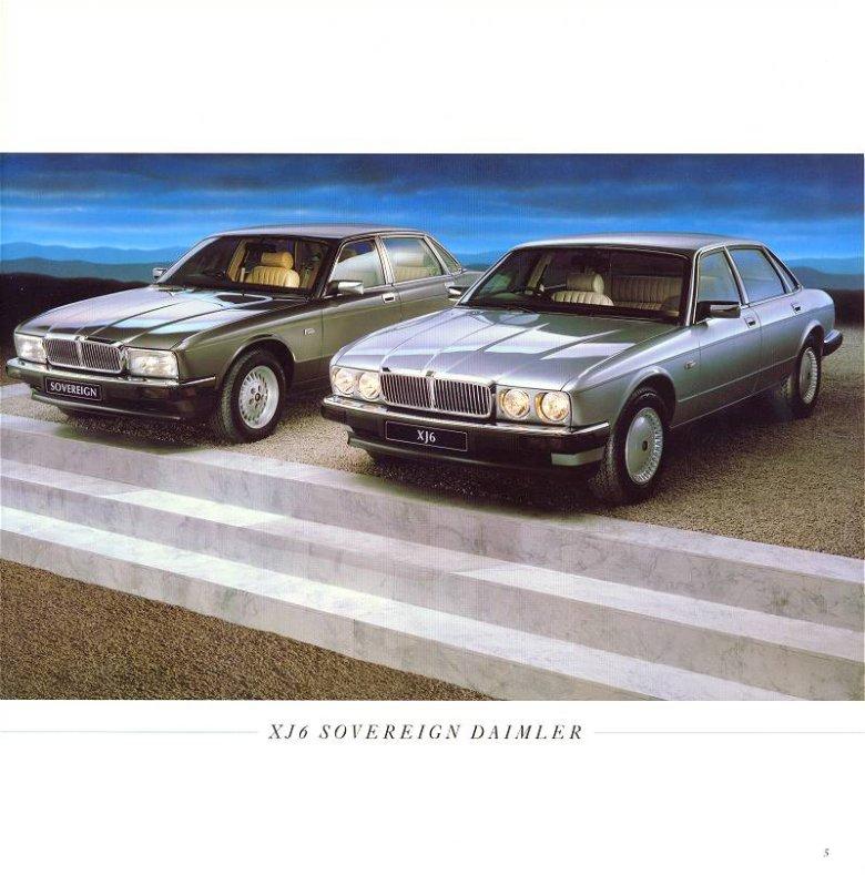 Jaguar XJ40 - katalog
