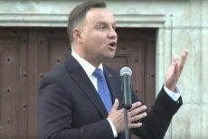 Andrzej Duda przemawiał podczas Święta Wojska Polskiego w Katowicach.