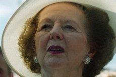 Margaret Thatcher. Była premier Wielkiej Brytanii zmarła w poniedziałek w wyniku udaru mózgu.