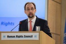 Wysoki Komisarz Narodów Zjednoczonych do spraw Praw Człowieka Zeid Ra'ad Al-Hussein skrytykował Polskę i Węgry za odradzający się rasizm i ksenofobię.