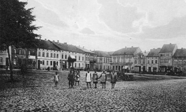 Rynek w Gilgenburgu, lata 30-te XX wieku