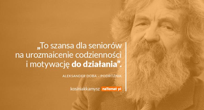 Aleksander Doba –podróżnik. Pierwszy w historii samotnie przepłynął kajakiem Atlantyk.