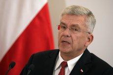 Marszałek Karczewski zachwalał pomysł zwiększenia liczby senatorów. Dziś idea wydaje się niemożliwa do zrealizowania.