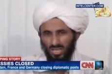 Nasser al-Wahiszi zginął podczas nalotu amerykańskich dronów